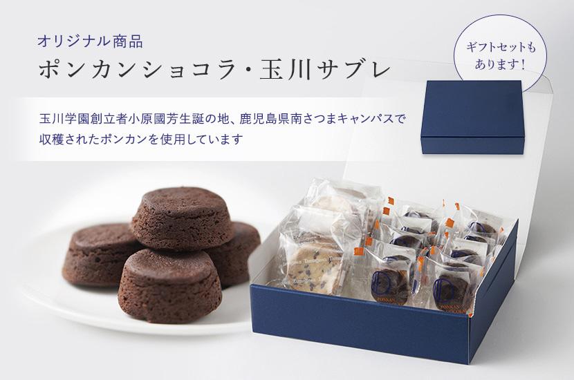 オリジナル商品 ポンカンショコラ・玉川サブレ